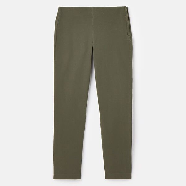 Joules Grape Hepworth Pull on Stretch Trousers Size 14