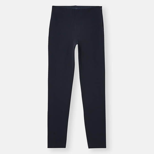 Joules Marine Navy Hepworth Pull on Stretch Trousers Size 10