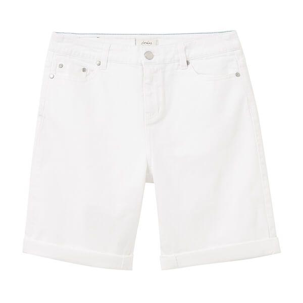 Joules Chalk Shirley Long Denim Shorts