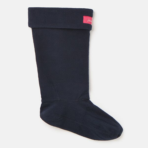 Joules French Navy Welly Liners Size 3-4