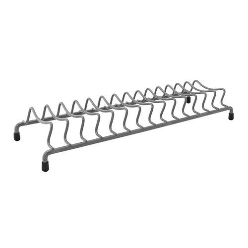 Delfinware Wireware Grey Popular Plate Rack