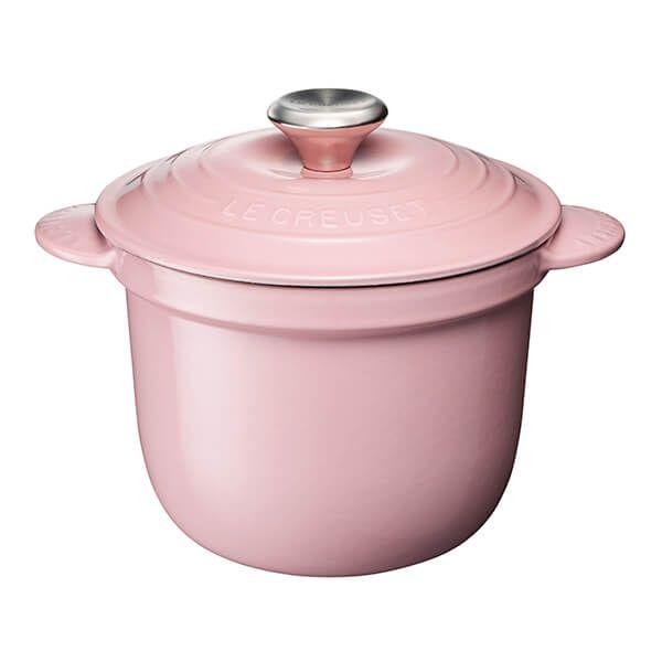 Le Creuset Cast Iron Cocotte Every 18cm Rice Pot Chiffon Pink