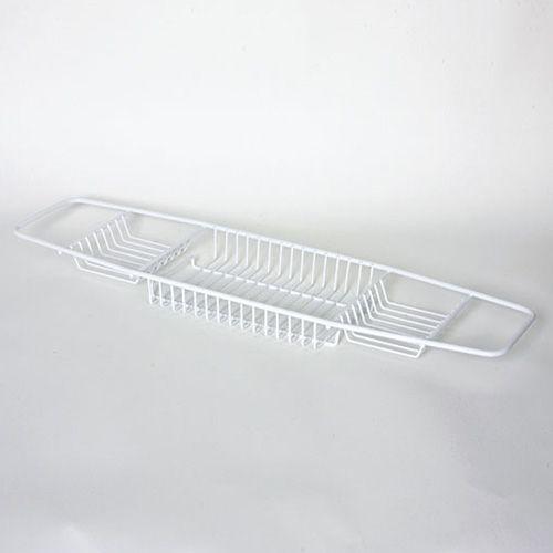 Delfinware Wireware White Bath Tray