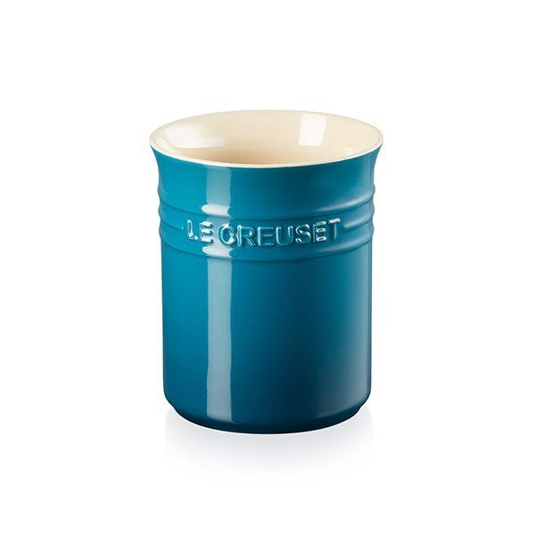 Le Creuset Deep Teal Stoneware Small Utensil Pot
