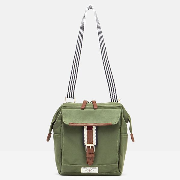 Joules Khaki Wells Cross Body Bag