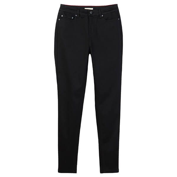 Joules Black Monroe High Rise Stretch Skinny Jeans Size 18