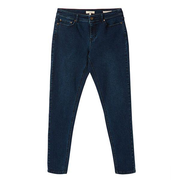 Joules Indigo Monroe High Rish Stretch Skinny Jeans Size 14