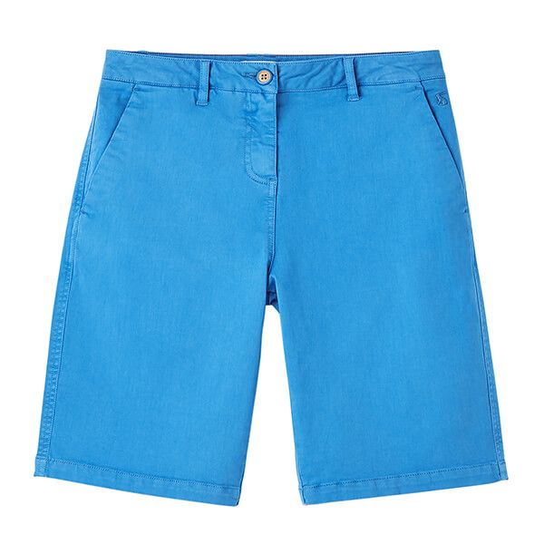 Joules Whitby Blue Cruise Long Length Chino Shorts