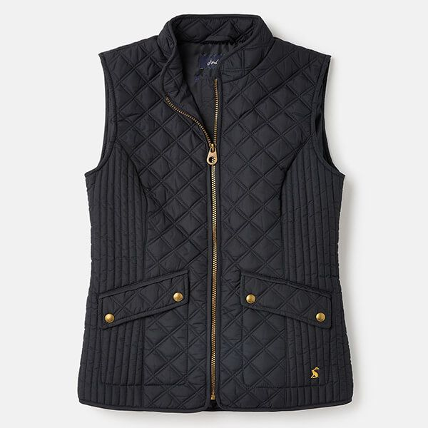 Joules Navy Minx Quilted Gilet Size 24