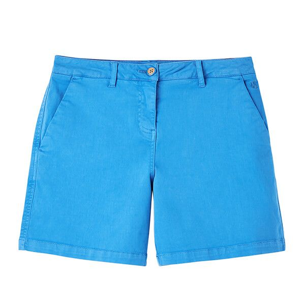 Joules Whitby Blue Cruise Mid Thigh Length Chino Shorts