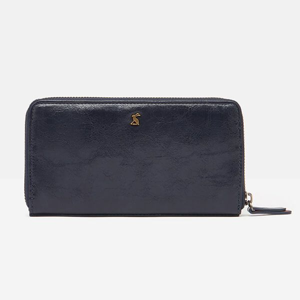 Joules French Navy Tilly PU Purse