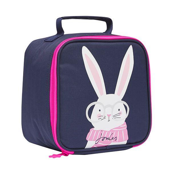 Joules Navy Rabbit Munch Lunch Bag