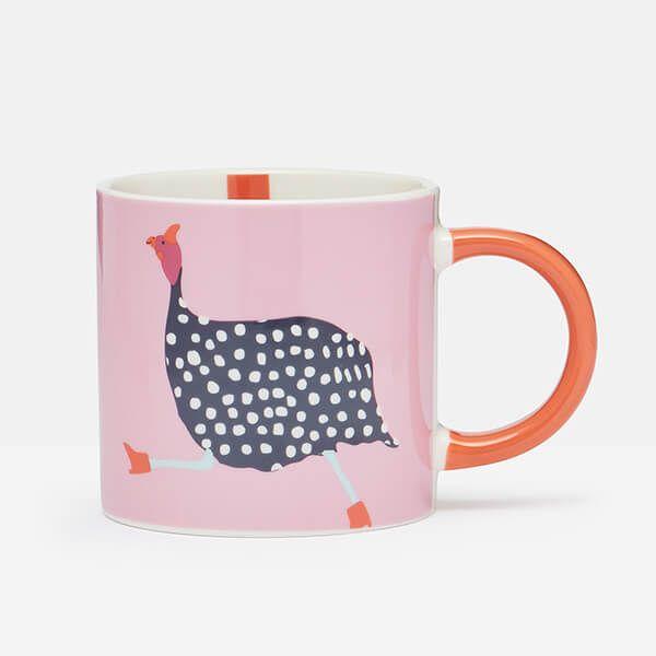 Joules Fowl Pink Mug