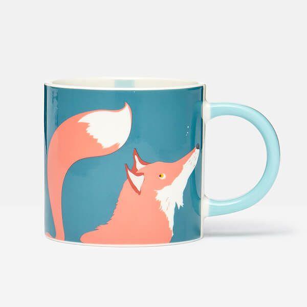 Joules Fox Teal Mug