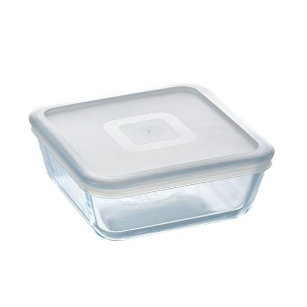 Pyrex Cook & Freeze 2.0L Square Dish with Lid