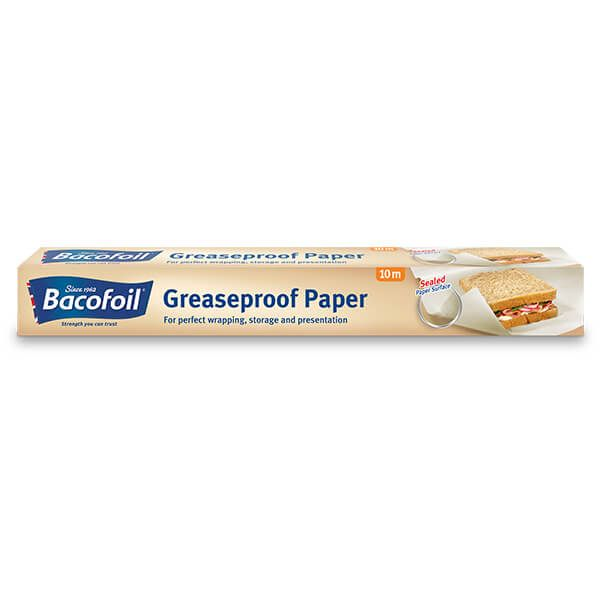 Bacofoil Greaseproof Roll 38cm x 10m