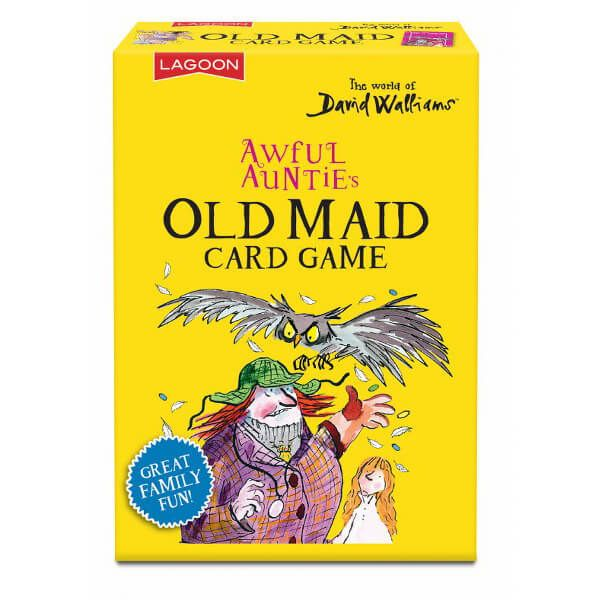 David Walliams Awful Auntie's Old Maid Card Game