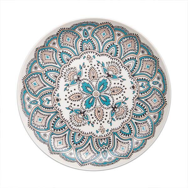 Denby Monsoon Mandala Medium Plate