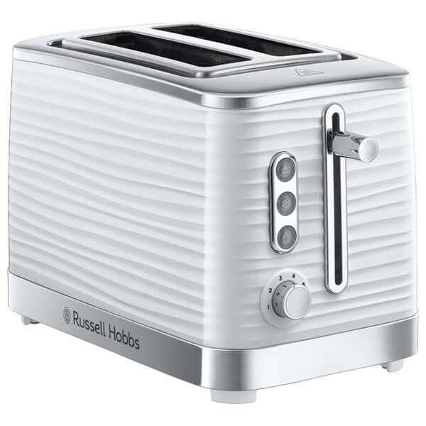 Russell Hobbs 2 Slice Inspire Toaster White