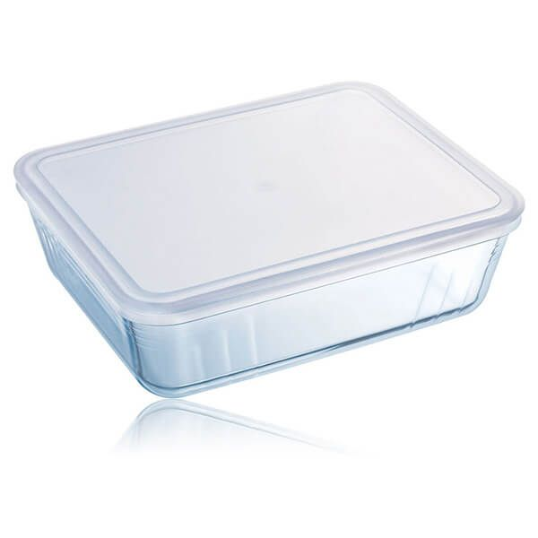 Pyrex Cook & Freeze 27cm Rectangular Dish With Lid