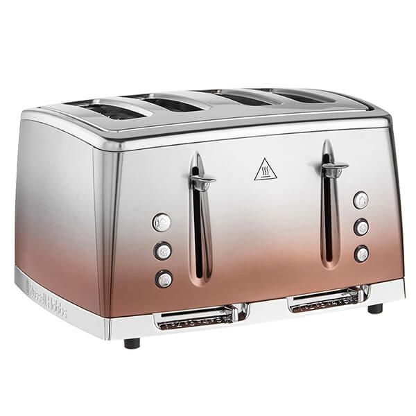 Russell Hobbs Eclipse Copper Sunset 4 Slot Toaster