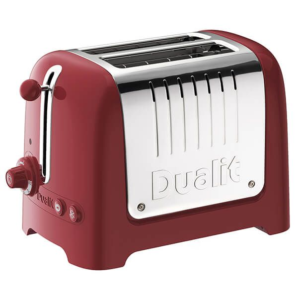 Dualit Lite 2 Slot Toaster Gloss Red