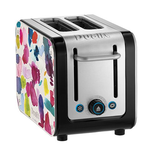 Dualit Architect 2 Slot Black Body With Bluebellgray Panel Toaster