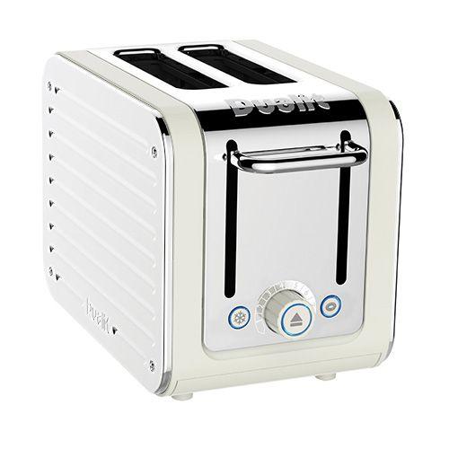 Dualit Architect 2 Slot Canvas Body With White Panel Toaster