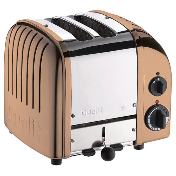 Dualit Classic Vario AWS Copper 2 Slot Toaster With Free Gift