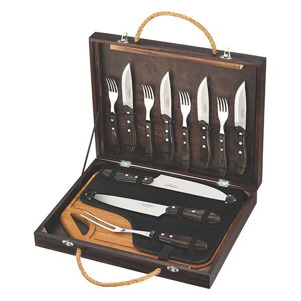Tramontina 13 Piece Steak Knife & Fork & Carving Set