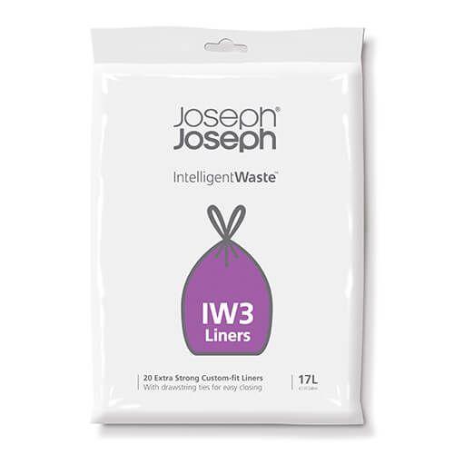 Joseph Joseph Intelligent Waste 17 Custom Fit Totem Liners