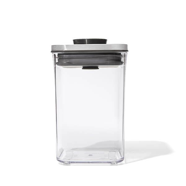 OXO Good Grips Steel POP Small Square Short 1L Storage Container