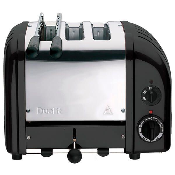 Dualit Classic Vario AWS Combi Black 2 + 1 Slot Toaster