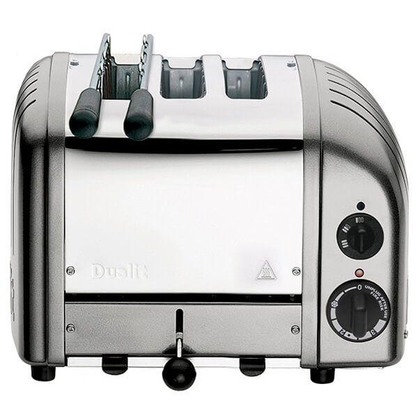 Dualit Classic Vario AWS Combi Metallic Silver 2 + 1 Slot Toaster