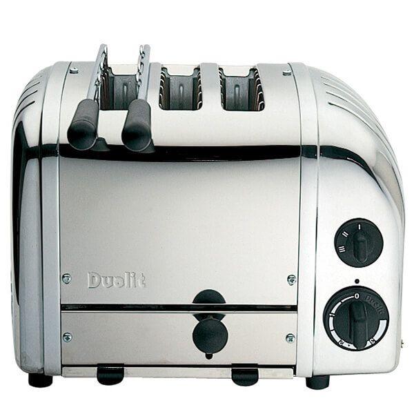 Dualit Classic Vario AWS Combi Polished 2 + 1 Slot Toaster