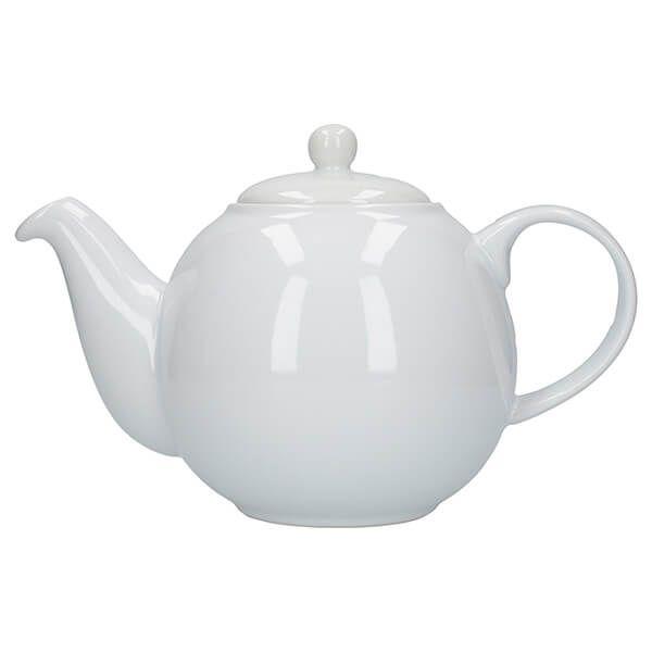 London Pottery Globe 4 Cup Teapot White