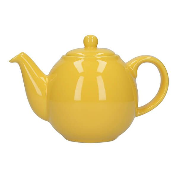 London Pottery Globe 4 Cup Teapot New Yellow