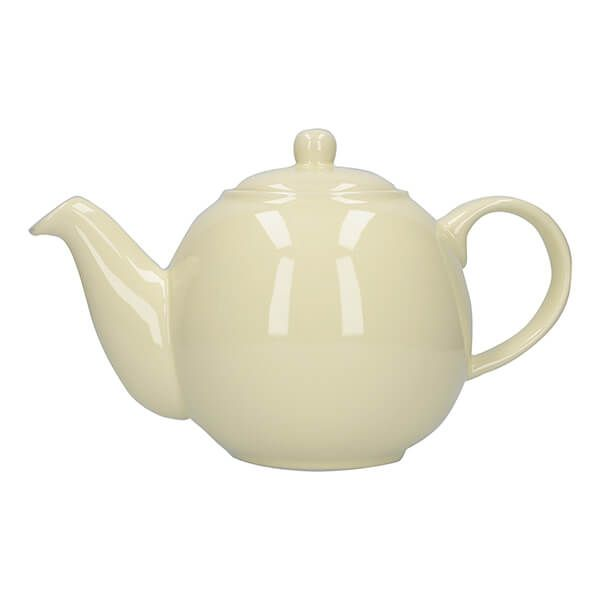 London Pottery Globe 4 Cup Teapot Ivory