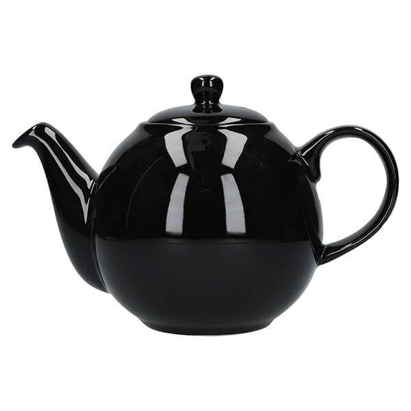 London Pottery Globe 4 Cup Teapot Gloss Black