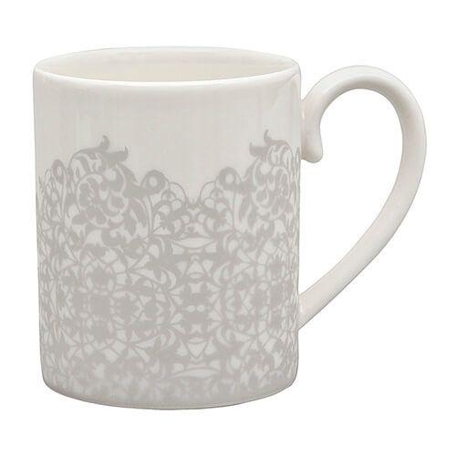 Denby Monsoon Filigree Silver Small Mug