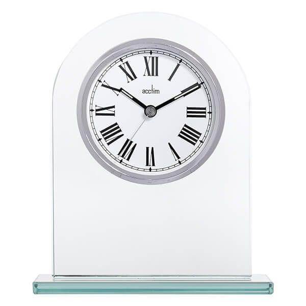 Acctim Adelaide Mantel Clock Silver