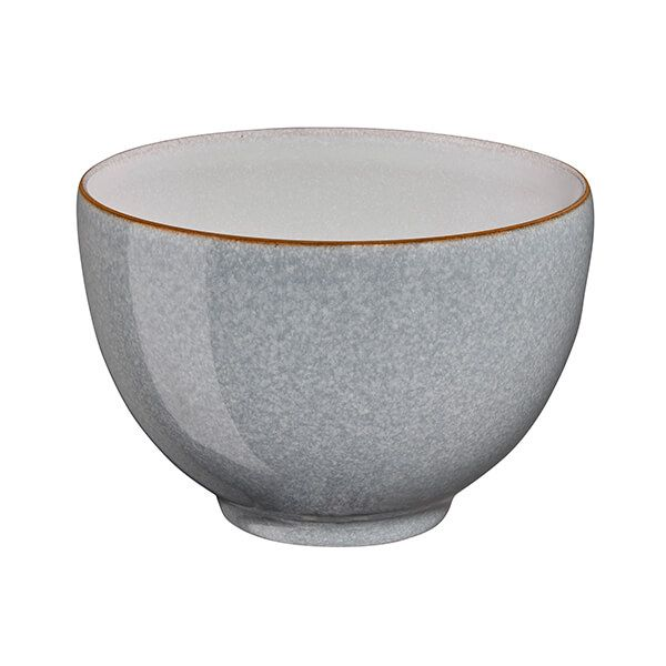 Denby Elements Light Grey Deep Noodle Bowl