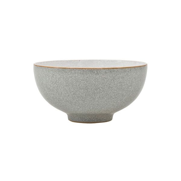 Denby Elements Light Grey Rice Bowl