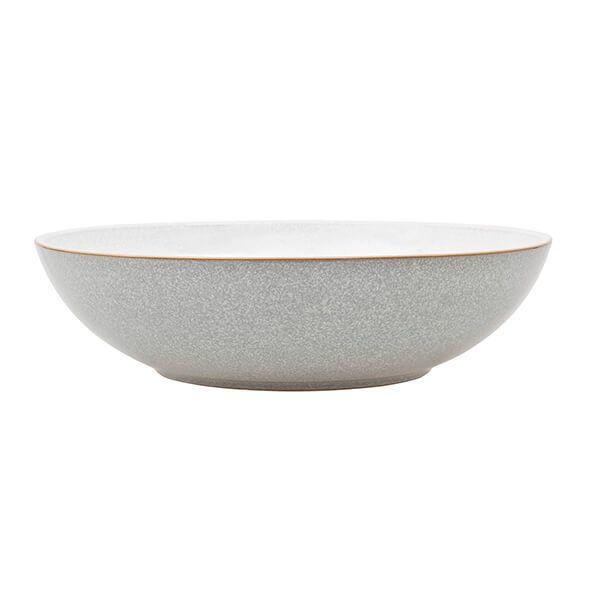 Denby Elements Light Grey Serving Bowl