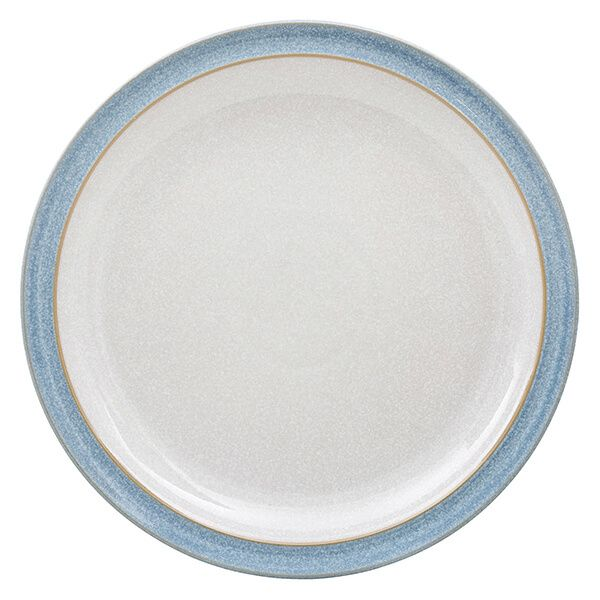Denby Elements Blue Dinner Plate
