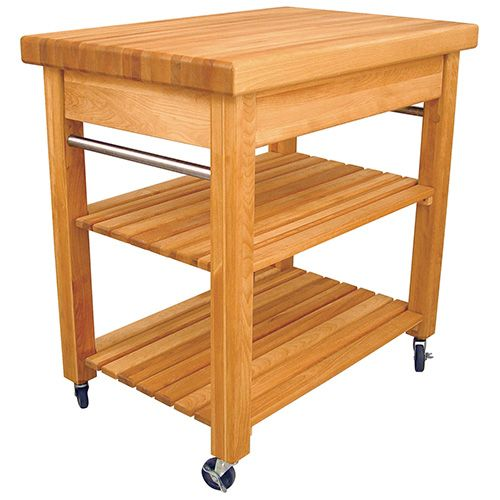 Compact French Country Work Centre Catskill Kitchen Trolley