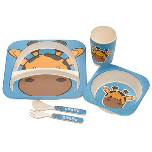 Epicurean Kids Giraffe 5 Piece Set