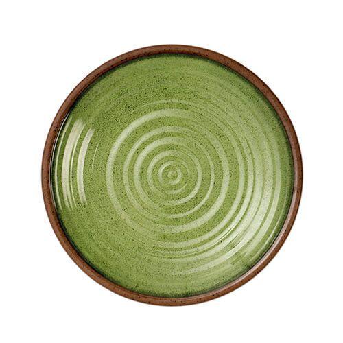 Epicurean Melamine Stoneware Sage 22cm Side Plate