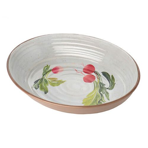 Epicurean Melamine Alfresco Large Oval Bowl