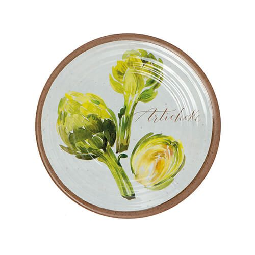 Epicurean Melamine Alfresco Artichoke 22cm Side Plate